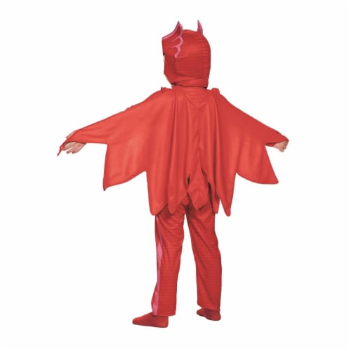 Owlette Classic Toddler PJ Masks Costume, Small/2T Perspective: back