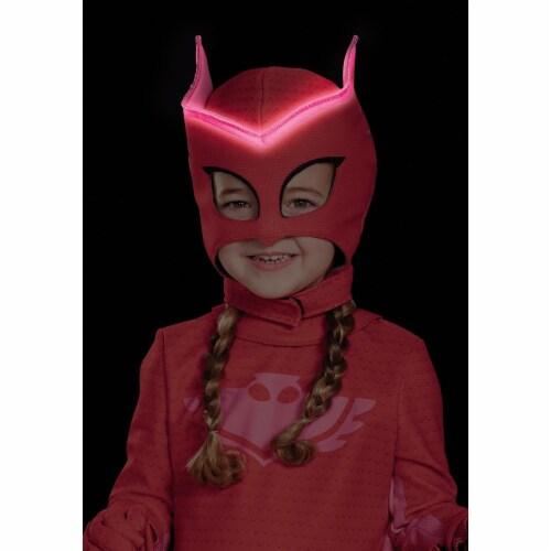 Kids PJ Masks Owlette Superhero Mask Perspective: back