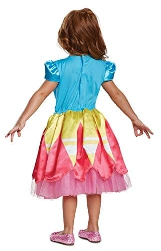 Disguise Sunny Classic Toddler Child Costume, (Size Medium 3T-4T) Perspective: back