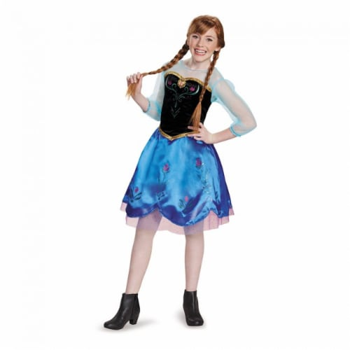 Anna Traveling Tween Costume (10-12) Perspective: back