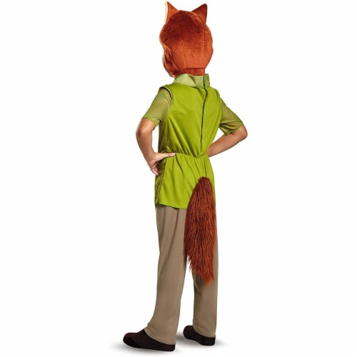 Nick Wilde Classic Costume M (7-8) Perspective: back
