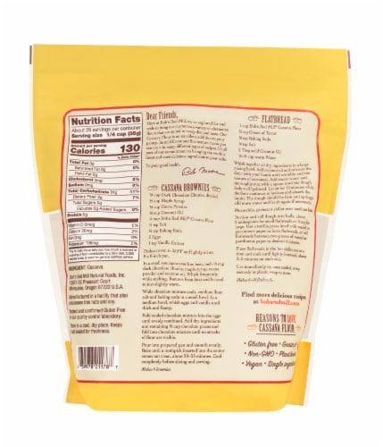 Bob's Red Mill Grain Free Cassava Flour Perspective: back