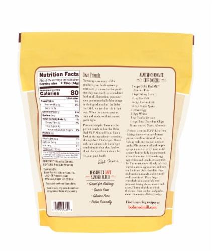 Bob's Red Mill Super-Fine Almond Flour Perspective: back