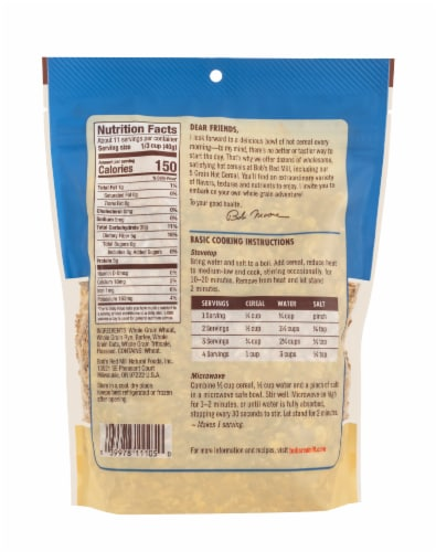 Bob's Red Mill® 5 Grain Hot Cereal Perspective: back