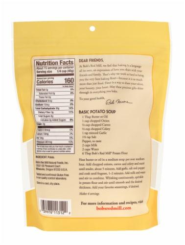 Bob's Red Mill Super-Fine Potato Flour Perspective: back