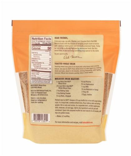 Bob's Red Mill® High Fiber Wheat Bran Perspective: back