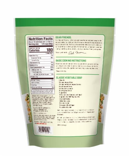 Bob's Red Mill Vegi Soup Mix Perspective: back