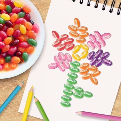 STARBURST Original Jelly Beans Chewy Easter Candy Bag Perspective: back