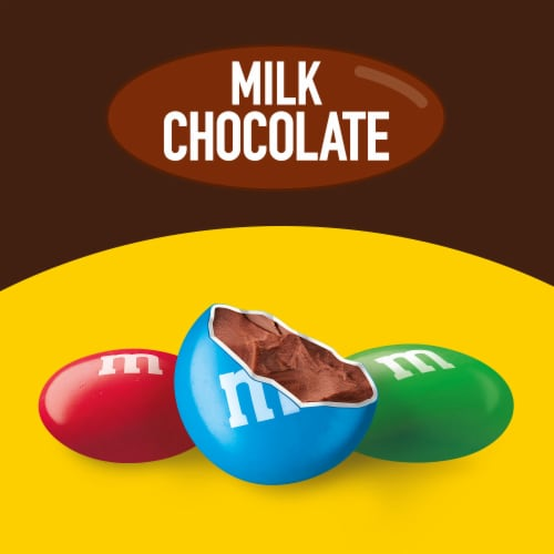 M&M's Milk Chocolate Fun Size Bags Perspective: back