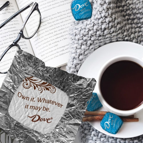 Dove Promises Silky Smooth Milk Chocolate Candy Perspective: back
