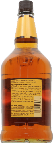 Four Roses Kentucky Straight Bourbon Whiskey Perspective: back