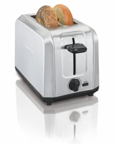 Hamilton Beach 2 Slot Brushed Stainless Steel Toaster Perspective: back