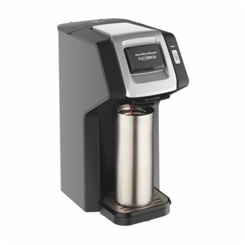 Hamilton Beach FlexBrew® Single-Serve Coffee Maker - Black Perspective: back