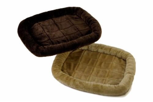 Dallas Cozy Plush Pet Bed Perspective: back
