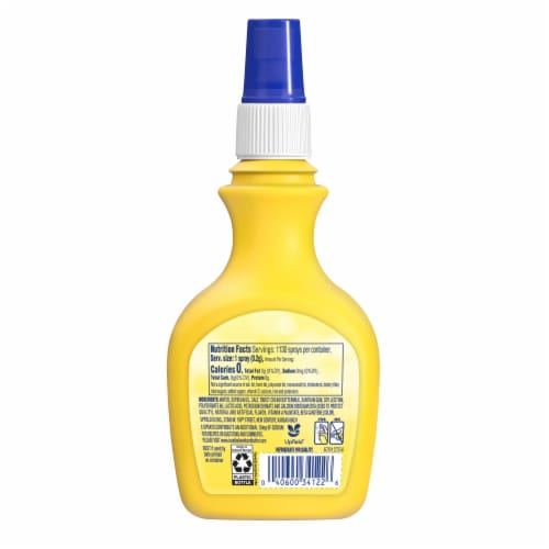 I Can't Believe It's Not Butter! The Original Vegetable Oil Spray Perspective: back