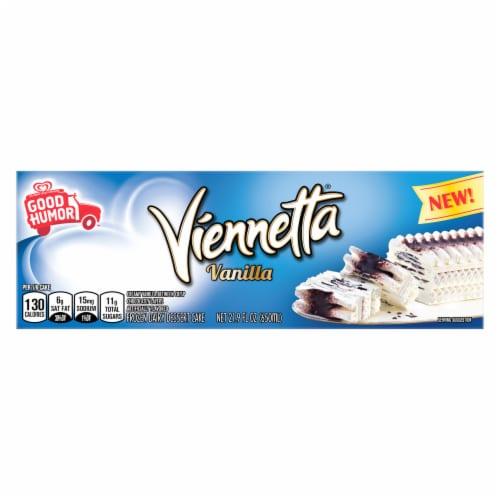 Good Humor Viennetta Vanilla Frozen Ice Cream Dessert Cake Perspective: back