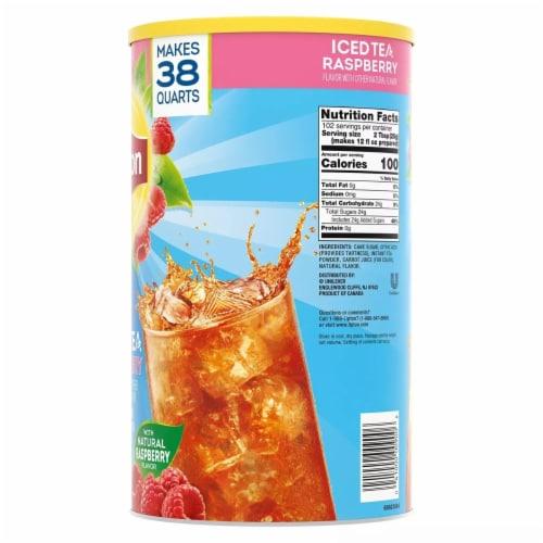 Lipton Raspberry Iced Tea Mix (89.8 Ounce) Perspective: back