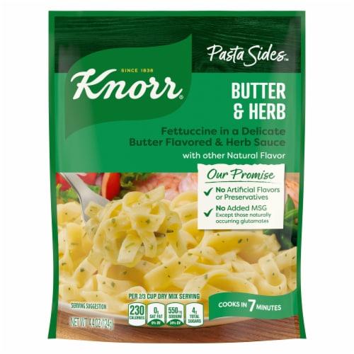 Knorr Pasta Sides Butter & Herb Fettuccine Perspective: back