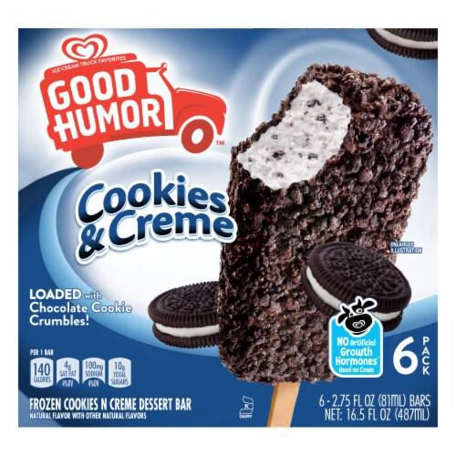 Good Humor Frozen Oreo Dessert Bars Perspective: back
