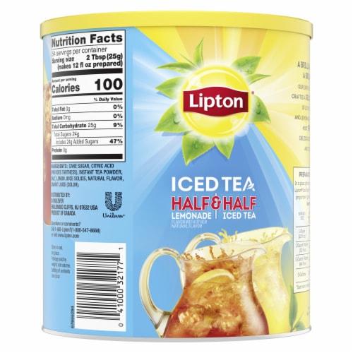 Lipton Half & Half Lemonade & Sweetened Iced Tea Mix Perspective: back