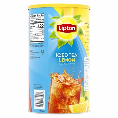 Lipton Sweetened Iced Tea with Lemon Mix Perspective: back