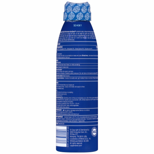 Coppertone® Sport® SPF 50 Spray Sunscreen Perspective: back