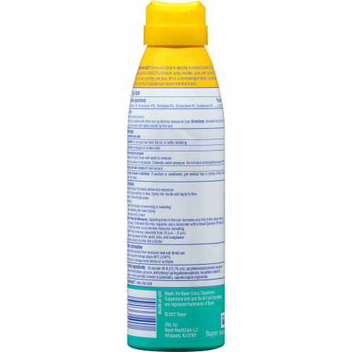 Coppertone Kids Sunscreen Spray SPF 50 Perspective: back