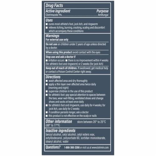 Lotrimin® Anti Fungal Cream Perspective: back
