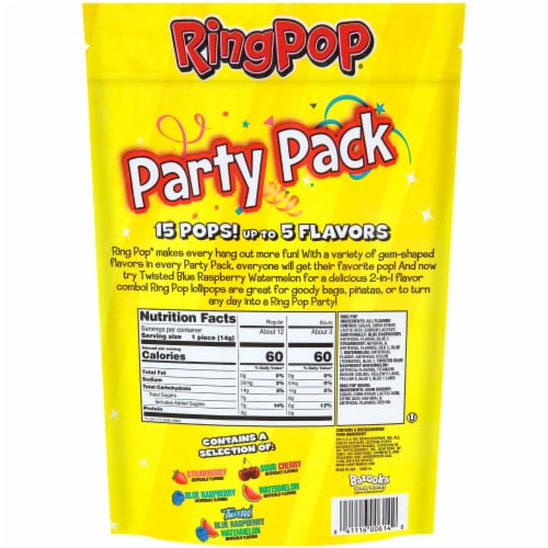 Ring Pop® Party Pack Pops Value Pack Perspective: back