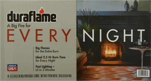 Duraflame® Every Night Fire Logs Perspective: back