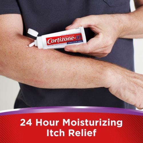 Cortizone 10 Intensive Healing Formula Hydrocortisone Anti-Itch Creme Perspective: back