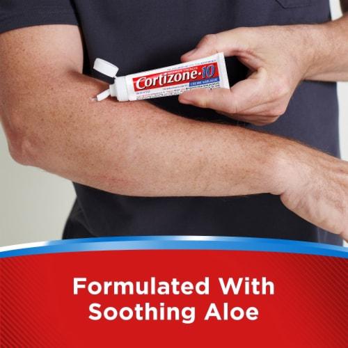 Cortizone 10 Maximum Strength Creme with Healing Aloe Perspective: back
