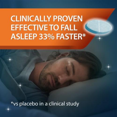 Unisom SleepTabs Nighttime Sleep-Aid Tablets 25mg Perspective: back