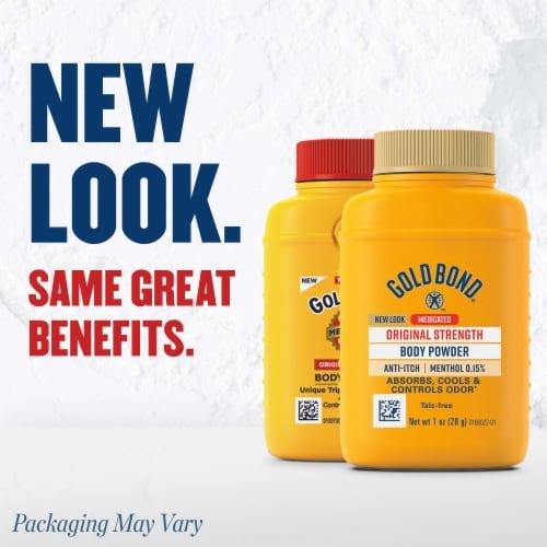 Gold Bond Talc-Free Original Strength Body Powder Perspective: back