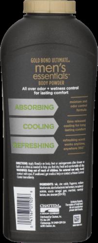 Gold Bond Ultimate Refresh 360 Scent Men's Essentials Body Powder Perspective: back