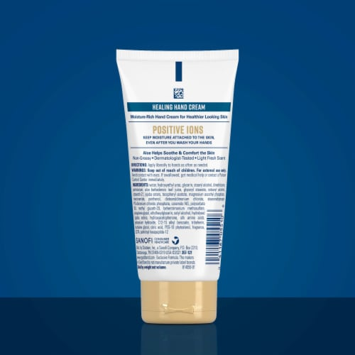 Gold Bond Ultimate Healing Hand Cream Perspective: back