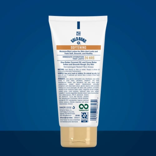 Gold Bond Ultimate Softening Skin Therapy Cream Perspective: back