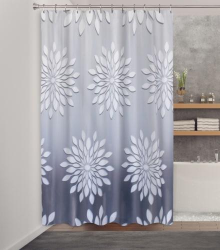 HD Designs Fabric Shower Curtain - Medina Perspective: back