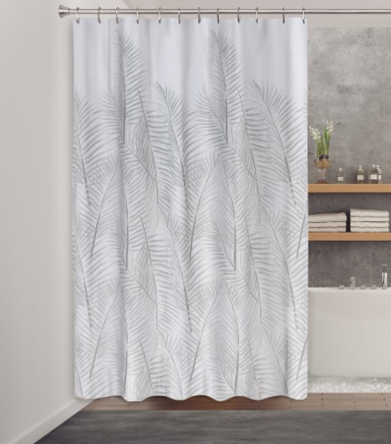 HD Designs® Fabric Shower Curtain - Malay Perspective: back