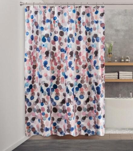 HD Designs® Splish Fabric Shower Curtain Perspective: back