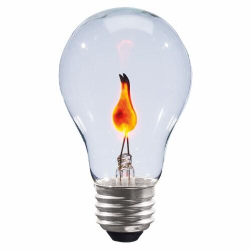 Holiday Home® Halloween 75-Watt E26 Medium Screw Base Light Bulb - Clear Perspective: back