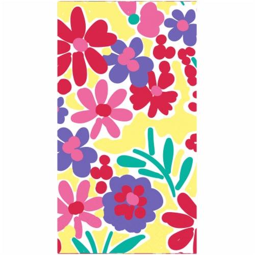 Kroger® Entertainment Essentials Garden Bouquet Napkins Perspective: back