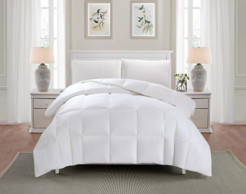 HD Designs® All Season Down Fiber Comforter - White Perspective: back