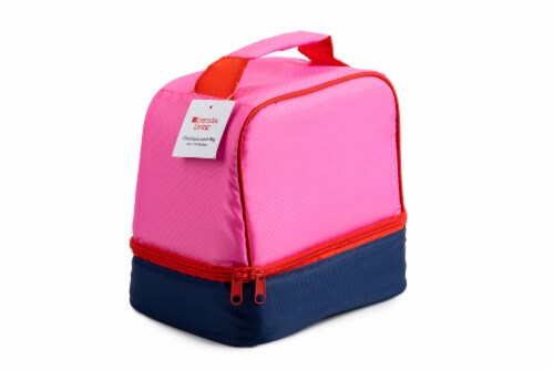 Everyday Living Colorblock Lunch Box - PInk Perspective: back