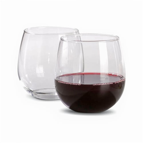 Dash of That Vina Stemless Red Wine Glass Perspective: back