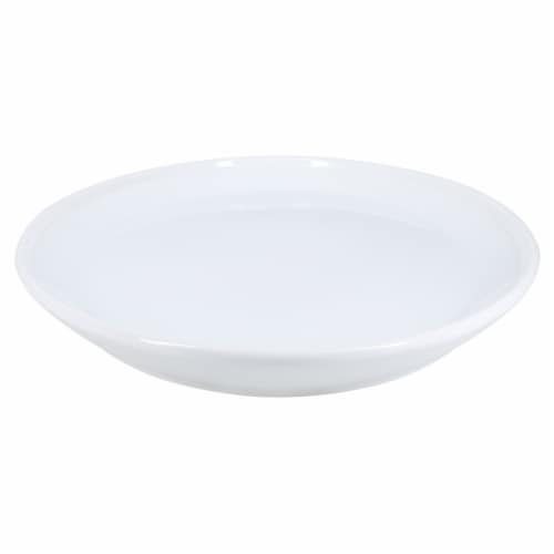 Dash of That Oval Riverdale Platter - White Perspective: back