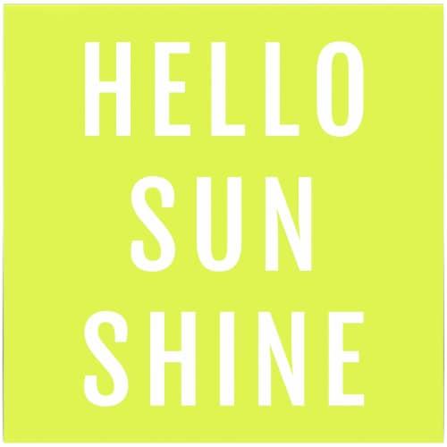 Kroger® Entertainment Essentials Hello Sunshine Beverage Napkins - Green Perspective: back
