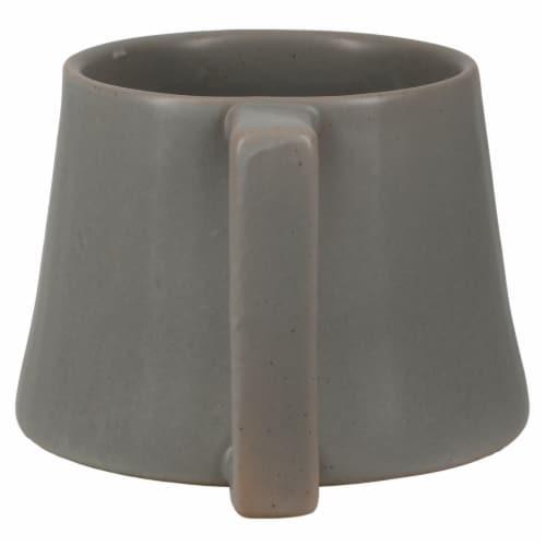 Dip™ Ceramic Mug - Gray Perspective: back