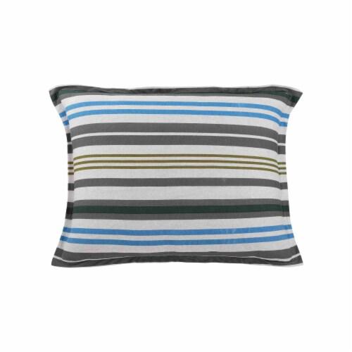 Everyday Living Jersey Knit Comforter Set - Power Stripe Perspective: back