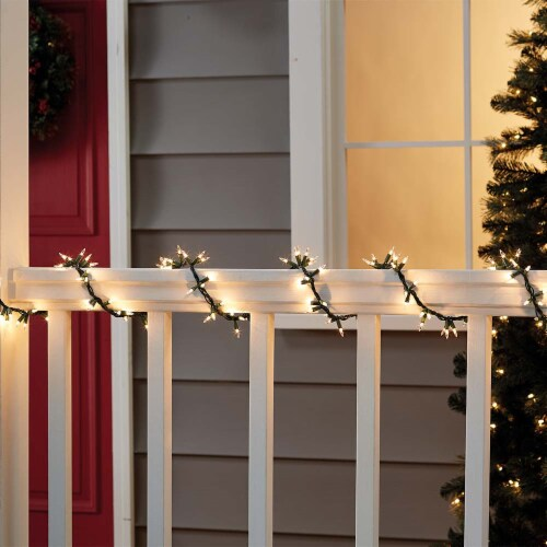 Holiday Home® 150 Incandescent Garland Lights - Clear Perspective: back